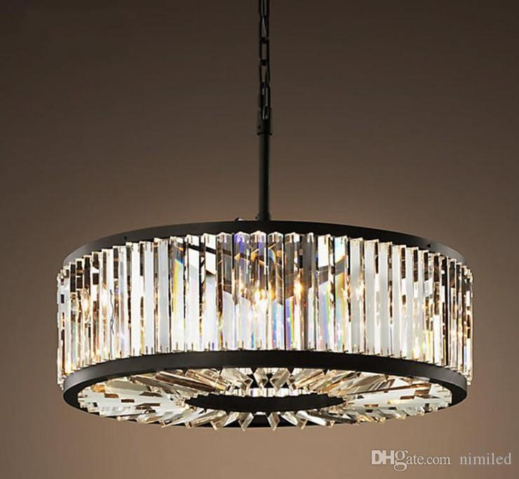 Creative American Tieyi Crystal Chandelier LED Nordic Postmodern Roof Lighting Living Room Restaurant Home Lighting LLFA
