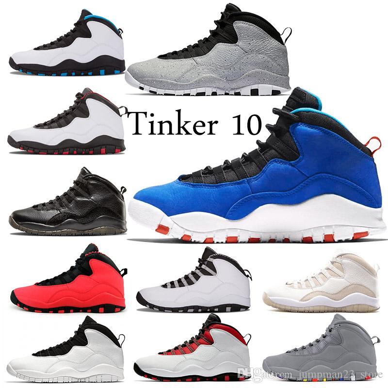 75c79ecfb6d 10 10s Tinker Cement Westbrook Class Of 2006 Men Basketball Shoes White  Black Steel Grey Chicago Powder Blue Sports Trainer Sneakers Us 7 13 UK  2019 From ...