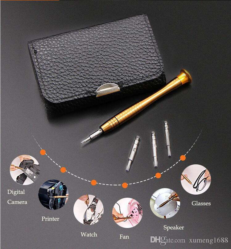 25 in 1 Screwdriver Set, Precision Screwdriver Repair Tool Kits with PU Leather Bag for PC, Eyeglasses, Phone, Watch, Digital Camera