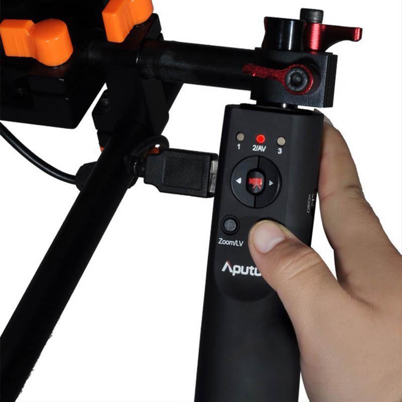 Freeshipping USB Focus Handle Follow Focus Controller for Canon EOS 1D Mark  IV 5D Mark II III 7D 60D 600D 550D 500D 1100D DSLR