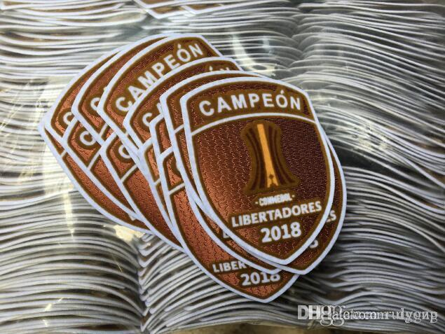 0fa8368d2 2019 2018 River Plate Campeon Patch Champions Conmebol Libertadores 2018  Badge From Ruigong, $1.61 | DHgate.Com