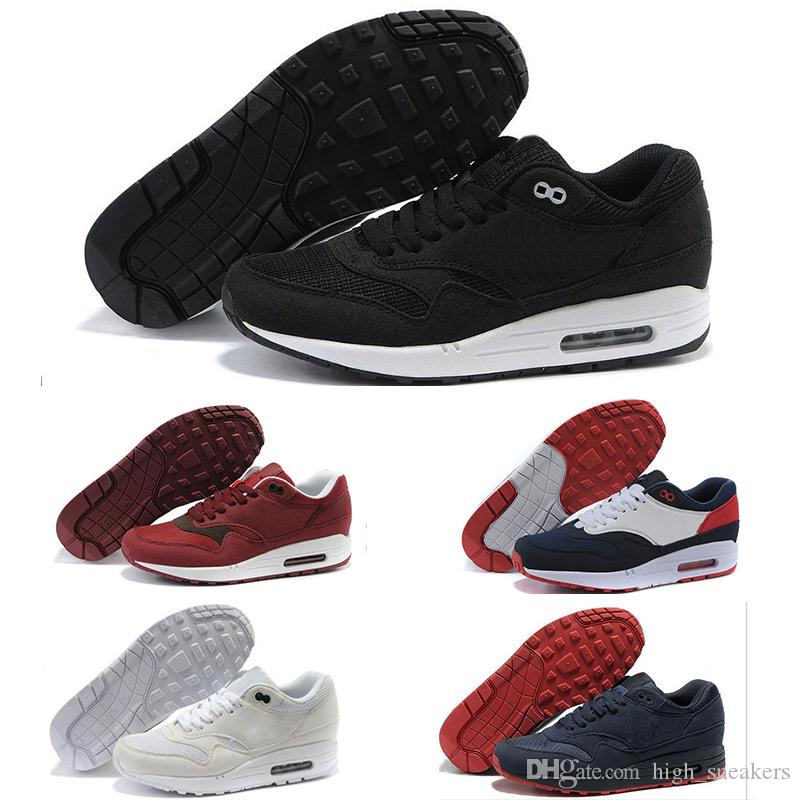 Nike air max 87 Mujer Hombre Casual thea running shoes chaussure femme blanco negro rosa Trainer Ligero transpirable zapatillas de deporte 40-45