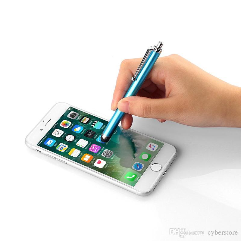 Stylus Pen Capacitive Touch Screen For Universal Mobile Phone Tablet i iPad cellphone iPhone 5 5S 6 6plus
