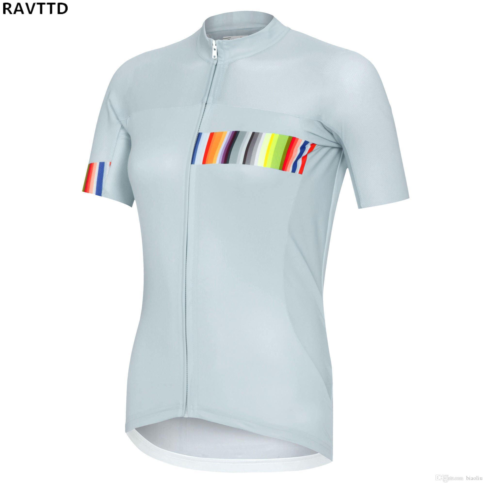 Summer Women Bike Short Sleeve Cycling Jersey Pro Team Outdoor Mountain  Bicycle Uniform Shirt Clothing Wear MTB Clothes Cycling Clothing Cycling  Wear Online ... c395d9466