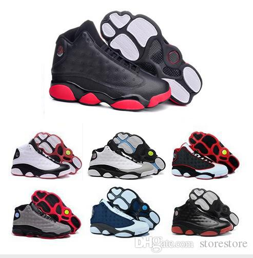 buy online 0aaf1 2a227 13s XIII man basketball shoes red bred He Got Game black Sneaker Sport  Shoes Online Sale Size 8-13