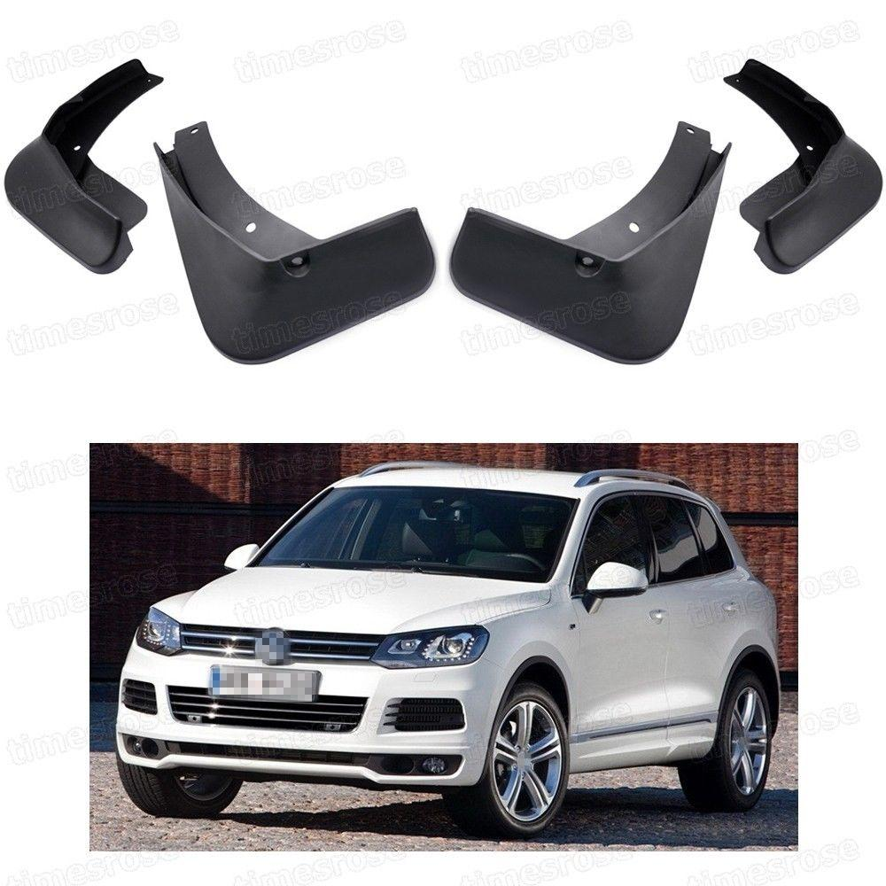4Pcs Car Mud Flaps Splash Guards Fender Mudguard for VW Touareg R-Line  2011-2018