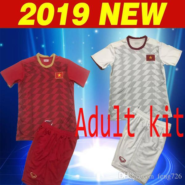 cheap for discount ad3d2 c97b6 2018 2019 Vietnam national football team HOME D.H. DUNG Soccer Jersey 18 19  Vietnam AWAY #14 P.V.DUC Football Shirts