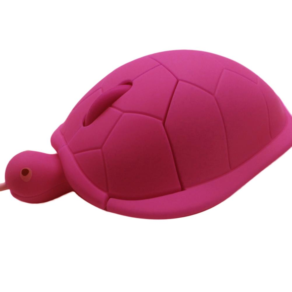 Cute animal Wired Mouse USB 3D Turtle Frosted Optical Mice Mouse For Computer PC Mini Pro Sea turtle Gaming @