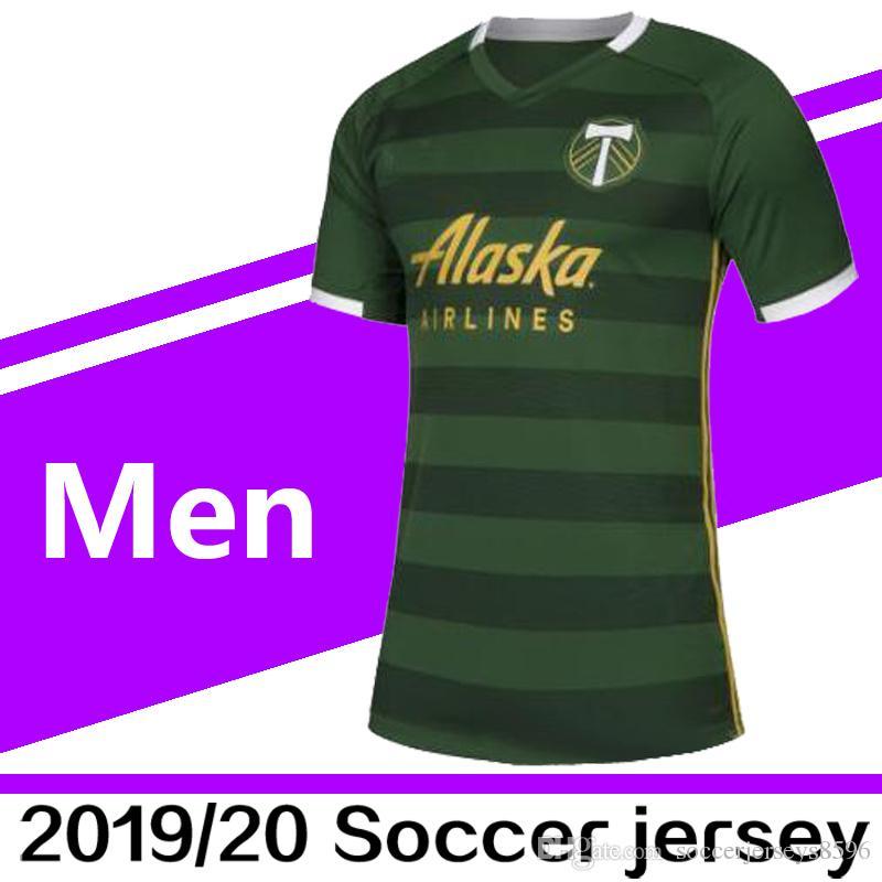 on sale 47310 81921 2019 New MLS Futbol Club Portland Timbers Home Soccer Jerseys mes Valeri  Blanco Futbol Camisa MLS Football Jersey Camiseta Shirt Maillot