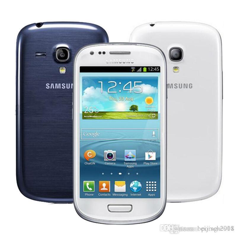 a207b7246ba Comprar Moviles Online Samsung Galaxy S3 Mini I8190 4.0 Pulgadas 1GB RAM  8GB ROM Dual Core 5.0MP 3G WCDMA WiFi Original Restaurado Desbloqueado  Telefono ...