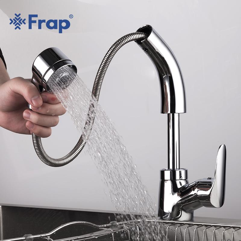 2019 frap new brass pull out kitchen sink faucet bathroom basin taps rh dhgate com