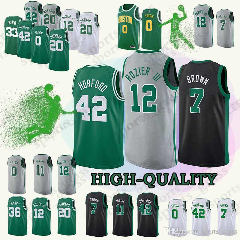 ab7916e717837 ... promo code for boston 7 jaylen brown 42 al horford jersey 12 terry  rozier 0 jayson