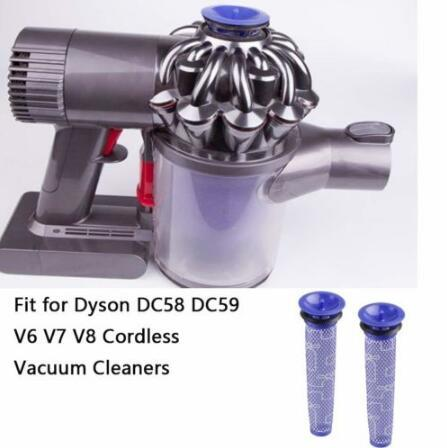 Image of: V7 V8 2019 Replacement Filter For Dyson V6 V7 V8 Animal Cordless Vacuum Cleaner Dc58 Dc59 Vacuum Cleaner Spare Part Filters Accessories Cca10840 From Dhgate 2019 Replacement Filter For Dyson V6 V7 V8 Animal Cordless Vacuum