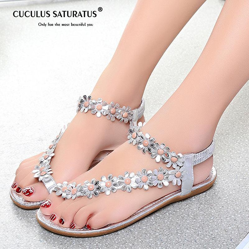 836ac1aef6e7 Cuculus 2019 Women Sandals Summer Style Bling Bowtie Fashion Peep Toe Jelly  Shoes Sandal Flat Shoes Woman 01F669 Biker Boots Boots For Men From  Lakeone
