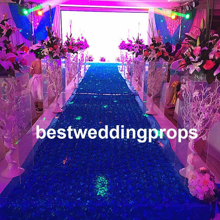 Hot Sale Acrylic Crystal Indian Wedding Mandap Pillars For Weddings