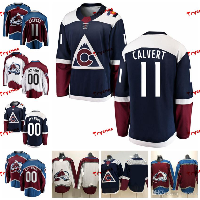 2019 ado Avalanche Matt Calvert Mens Stitched Jerseys Customize Alternate  Blue Home Shirts 11 Matt Calvert Hockey Jerseys S XXXL From Tryones 6fde19306a5