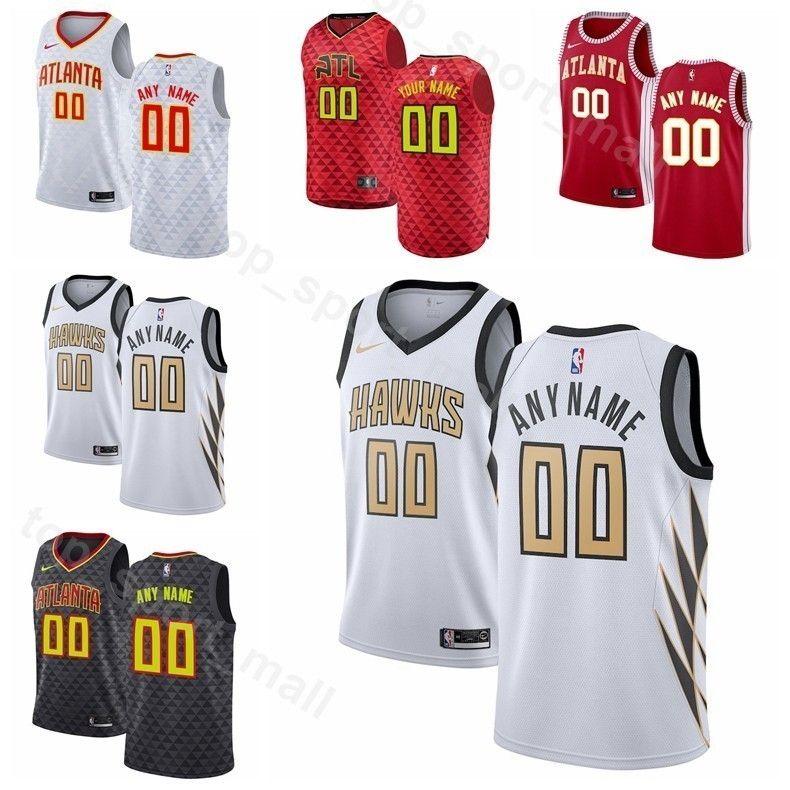 new product b8d03 3cdfb Men Youth Women Hawks Printed Alex Len Jersey Basketball DeAndre Bembry  Dewayne Dedmon Kevin Huerter Omari Spellman Custom Name City Earned