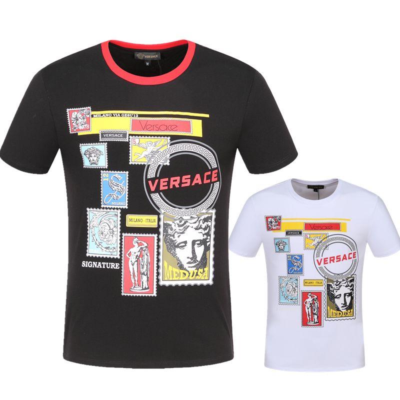 04912e63 2019 New Italy European Italian Polo Shirt Fashion Brand Medusa T Shirt  Men'S Casual Cotton T Shirt Brand Printed T Shirt M 3XL Buy Funny T Shirts  Shirts ...