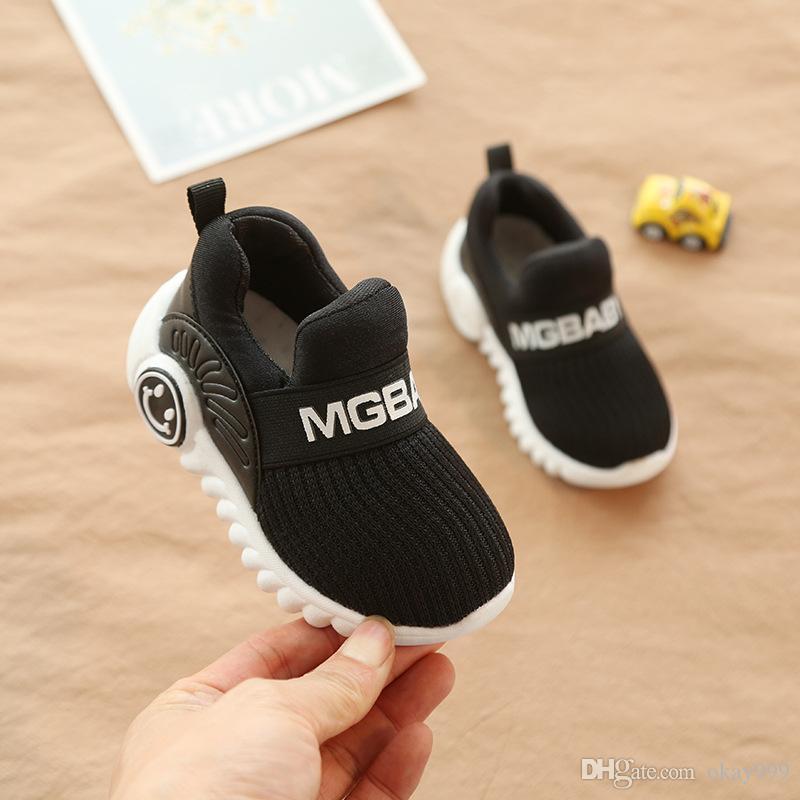 9c0524a82 Compre Sapato Infantil Calzado Infantil Para Niña 2019 Nueva Primavera  Otoño Zapatillas De Bebé 1 3 Años Zapatillas Deportivas Para Niños A  29.45  Del ...
