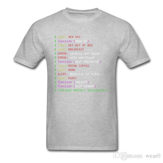 56bd6b5f 2019 Men S Designer Clothing Tshirt Monday Programmer T Shirt Funny Clothes  Geek Chic Men Tops Funny Saying Tshirt Cotton Tees Black T Shirt  Interesting T . ...