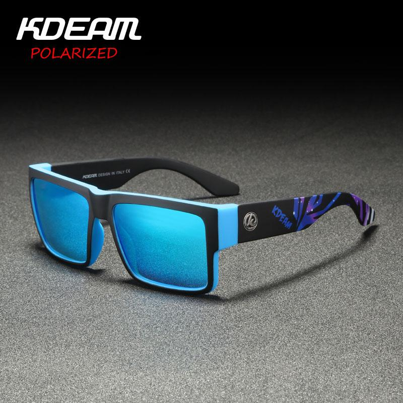 8c7218b285e 2019 New Arrival Men Sport Sunglasses Square Frame HD Polarized Mirror Lens  Women Outdoor Eyewear UV400 With Case KD093 Prescription Sunglasses Glasses  ...