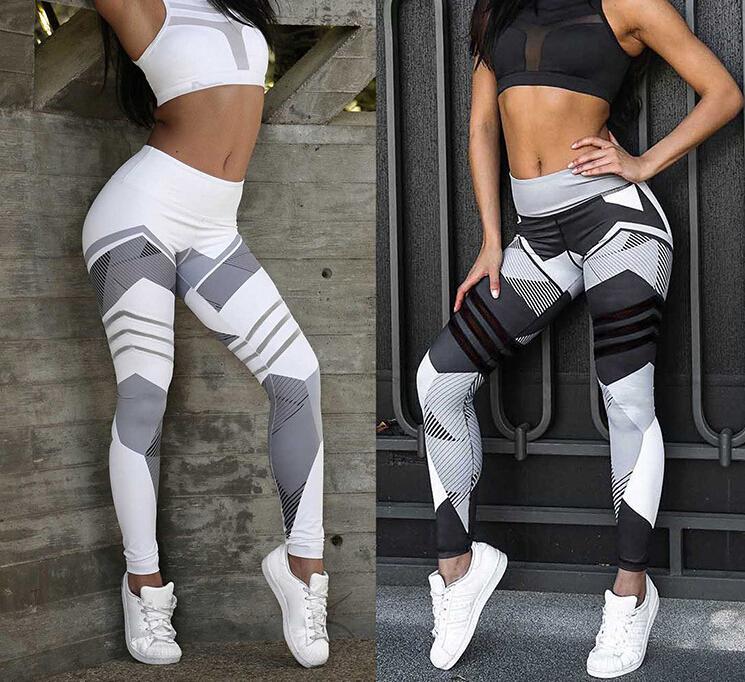 06b8210659dff8 Women Yoga Pants Slim Sports Clothing Fitness Leggings Running Sport ...