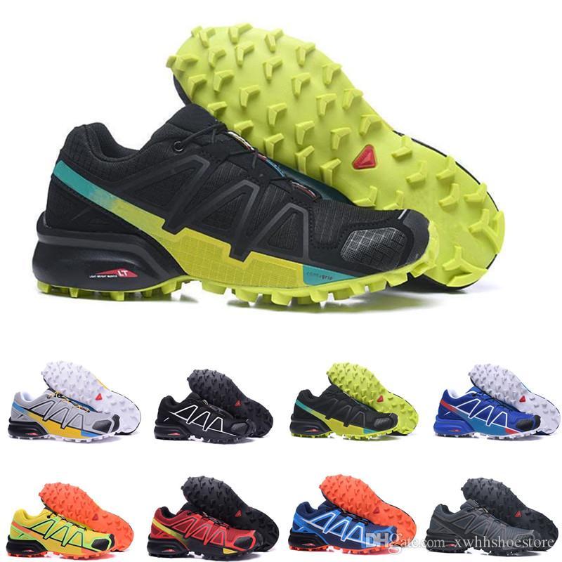 Compre 2018 Venda Barato Solomon Velocidade Cruz 4 CS Homens Tênis De  Corrida Caminhadas Ao Ar Livre Sapatilhas De Corrida Calçados Esportivos  SpeedCross 4 ... f43a64eeac