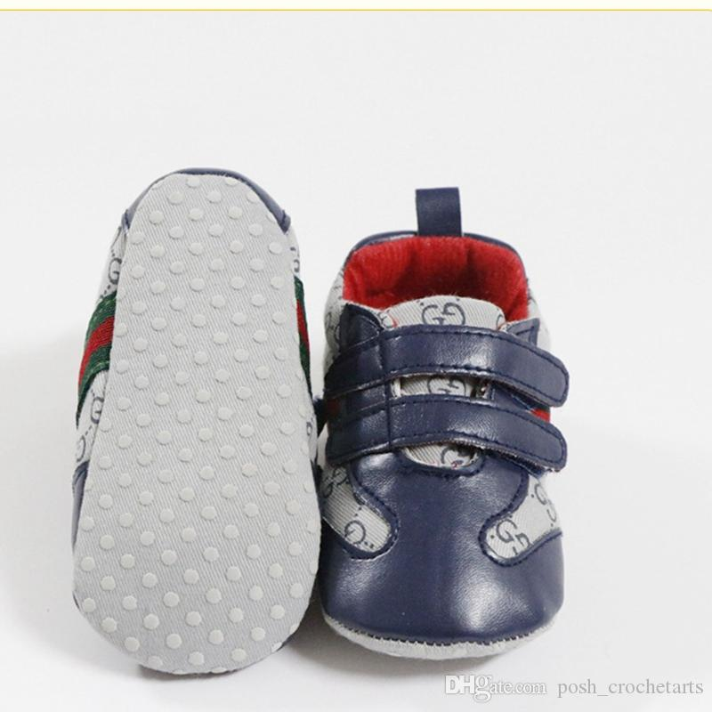 ca56b2d8c554 Cute Baby First Walkers Soft Sole Boys Shoes for Gift Ideas My First Shoes  Gift Kit Designer Baby Shoes for Sale