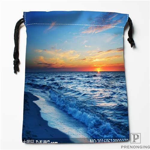 7d159e59e7c7b Custom Printing Sunset Beach Drawstring Shopping Bags Travel Storage Pouch  Swim Hiking Toy Bag Unisex Multi Size18-12-31-152