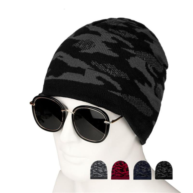 2944dd0c1f232 2019 Men S Winter Hat 2018 Fashion Knitted Black Hats Fall Hat Thick And  Warm And Bonnet Skullies Beanie Soft Knitted Beanies Cotton From Annuum