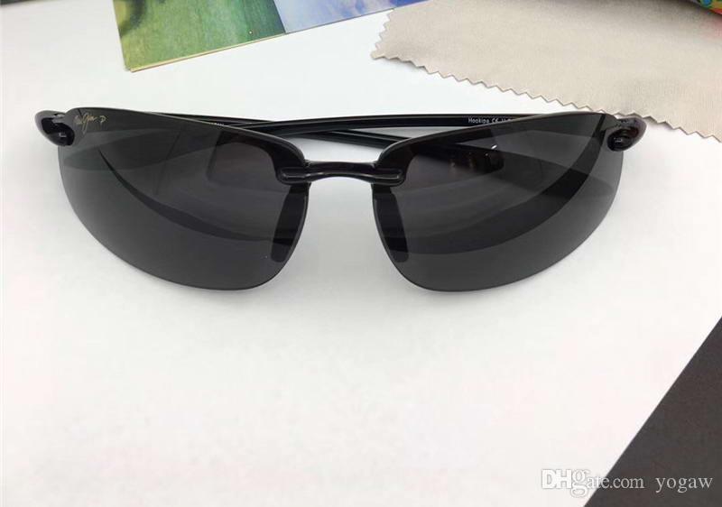 904fa1daf6 Men 407 Black Pilot Sunglasses Fashion Sunglass Brand Designer Sun Glasses  New With Box Eyewear Designer Sunglasses From Yogaw