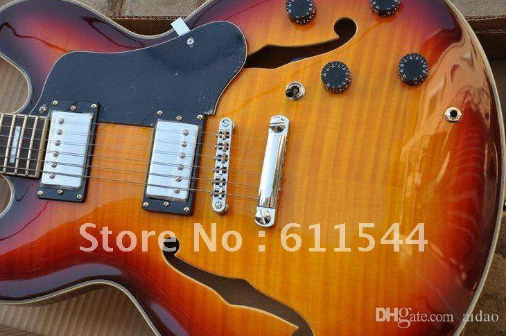 Wholesale G Semi-Hollow 335 Classic Jazz Guitar High Quality Musical instruments