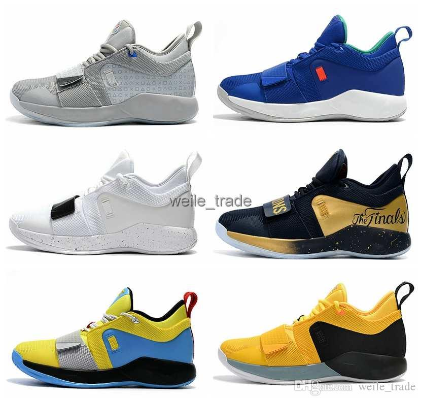 b451f0a5c5917d 2019 Top Quality Paul George 2.5 Whtie Black Red Basketball Shoes Men  Outdoors PG 2.5 Trainer Sneakers Designer AIR Brand Chaussures Tennis Shoes  Shoes Sale ...