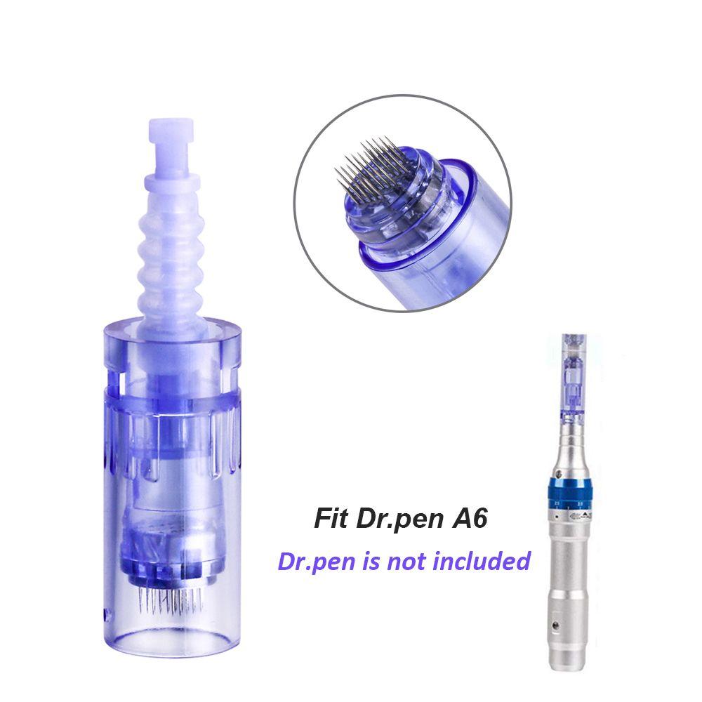 Remplacement Micro aiguille cartouche Conseils pour Auto Derma Stamp sans fil rechargeable Dr Pen A6 Derma Pen Skin Care Anti tache Scar Removal