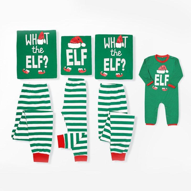 0a209fb659 Family Matching Christmas Pajamas Set Top And Long Pants Sleepwear ...