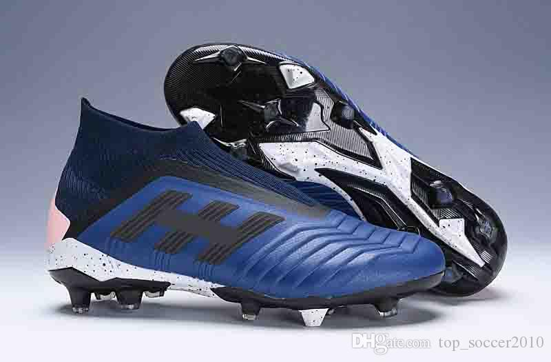 2019 High Ankle Football Boots Youth Boys Predator Telstar 18+ FG Soccer  Shoes Men Women Predator 18 X Pogba Outdoor Soccer Cleats From  Top soccer2010 540ea357f46