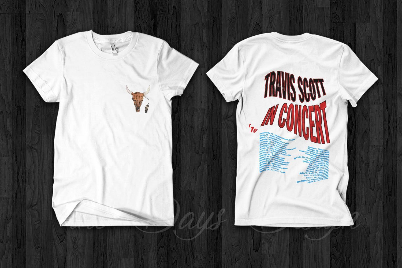 96a5106b5358 Travis Scott Rodeo Anti Tour Merch Astroworld T Shirt Official Logo Vintage  RapMen Women Unisex Fashion Tshirt Cool Tee Shirts Designs Web T Shirts  From ...