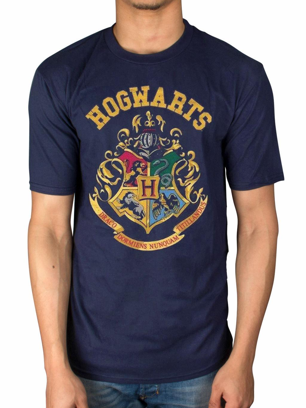 a3dc9f3c Official Harry Potter Hogwarts Crest T Shirt Hogwarts Hermione Granger Book  TVFunny Unisex Casual Tshirt Top Print On Tee Shirt Go T Shirts From ...