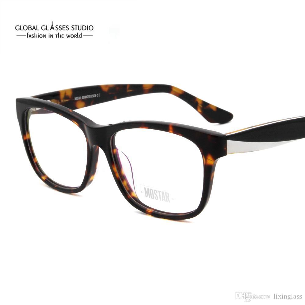 3300403f82d Women Men Fashion Individual Leg Design Clear Lens Eyeglasses MSG7114 Women  Men Fashion Individual Online with  14.14 Piece on Lixinglass s Store