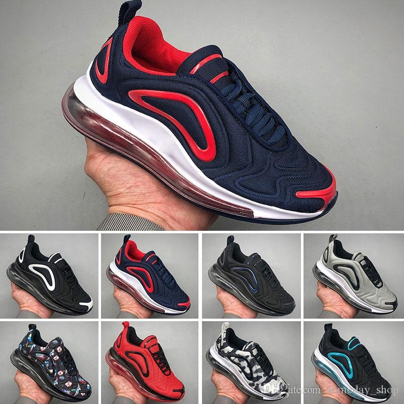 17ae99839037f Nike Air Max 720 Barato KPU 720 Running Causal zapatos 720s 72C hombres  mujeres Sea Forest