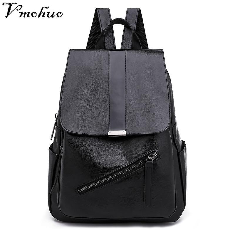 b258cb40f936 VMOHUO Korean Style Black Women Backpacks Fashion Backpacks For Teenager  Girls Female Travel Bags Casual Women Shoulder Bags Mens Backpacks Swiss  Army ...