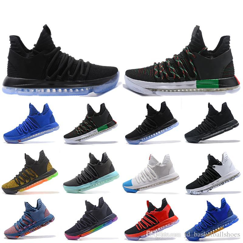 4babfcf273e Nueva Llegada Zoom KD 10 Zapatillas De Baloncesto Para Hombre Be True  Celebración BHM All Star Multi Color Igloo Oreo Designer Zapatillas  Deportivas 40 46 ...