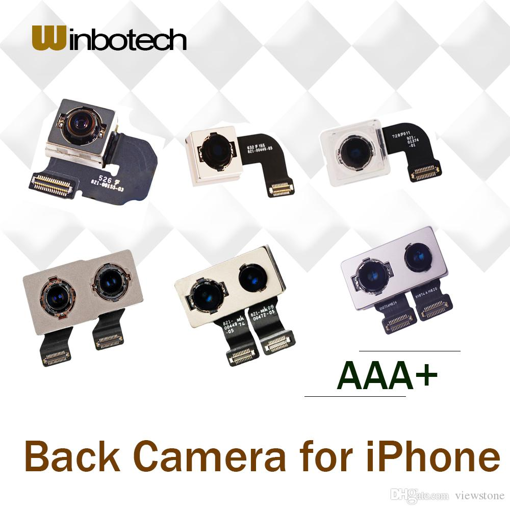 new styles 66300 c8901 Winbotech Grade AAA Back Camera Replacement For iPhone 6s plus 7 7plus 8 8  plus X Camera Flex Cable Repair Part