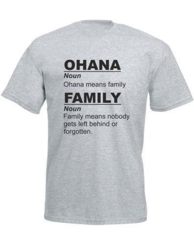 ddedb648 Ohana Means Family,Mens Printed T Shirtjersey Print T Shirt Shirts Online T  Shirt Creator From Whitecup, $16.24| DHgate.Com