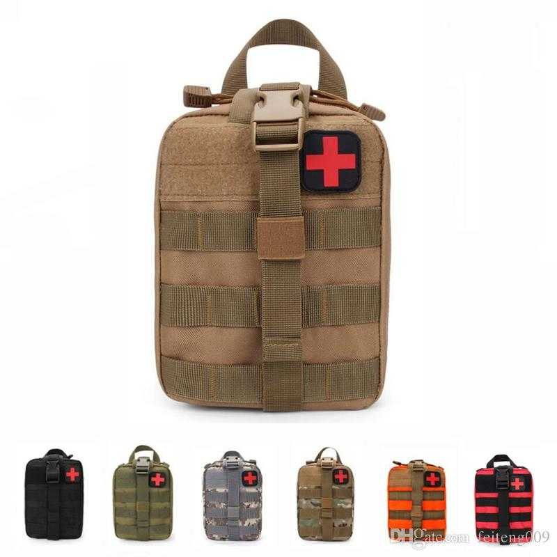Outdoor Hunting Waist Pack Military Tactical Medical Bag Travel First Aid  Kit Camping Climbing Bag Emergency Case Survival Kit #754859