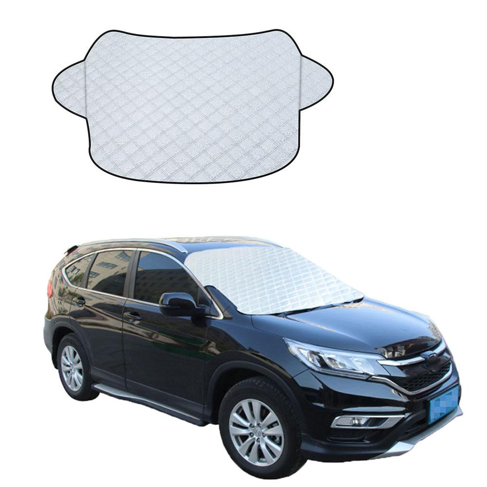 9ce8e353 Universal Automobile Sunshade Cover Snow Ice Shield for Windshield ...