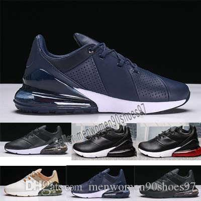 01fb11d924c865 2019 Best Quality 270 GS Running Shoes Mens 27C French Champion Air  Sneakers Womens University Gold Black White 2019 Off Chaussures Boots 36 45  From ...