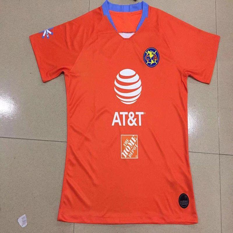 0f1cfe18bc86c 2019 Club De Futbol América Casa Fútbol Jersey 19 20 Club De Futbol América  Camiseta De Fútbol Personalizada México Uniforme De Fútbol Del Club Ventas  Por ...
