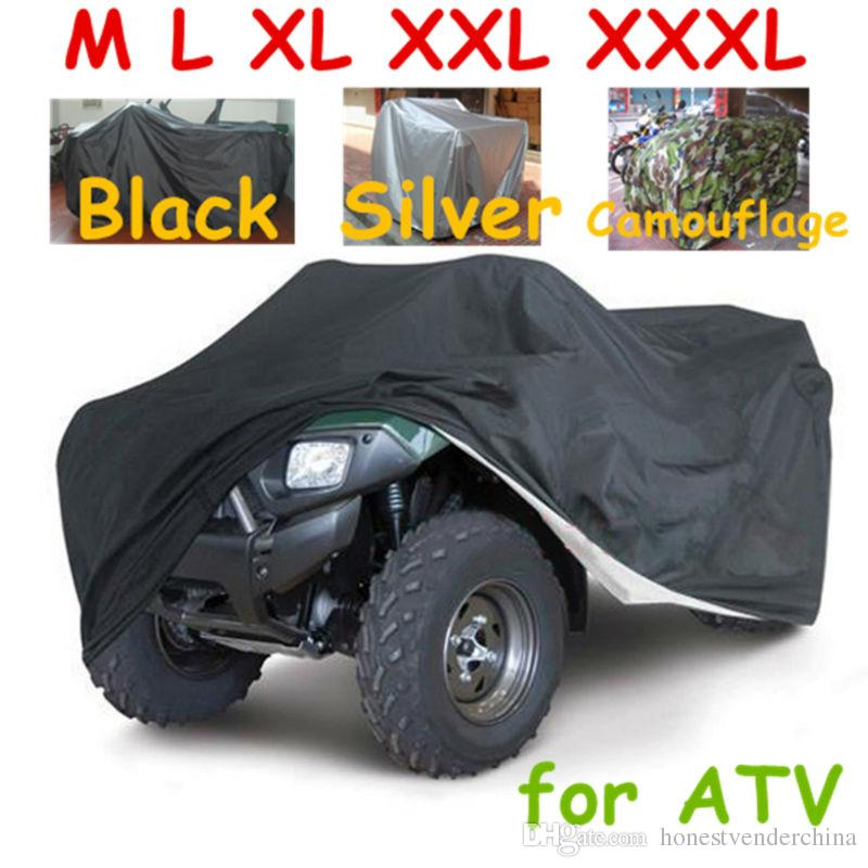 220*98*106cm Atv Car Cover Atv Rain Cover Atv Sun Cover Camouflage Silver Automobiles & Motorcycles Atv Parts & Accessories New Beach Car Cover Xxl