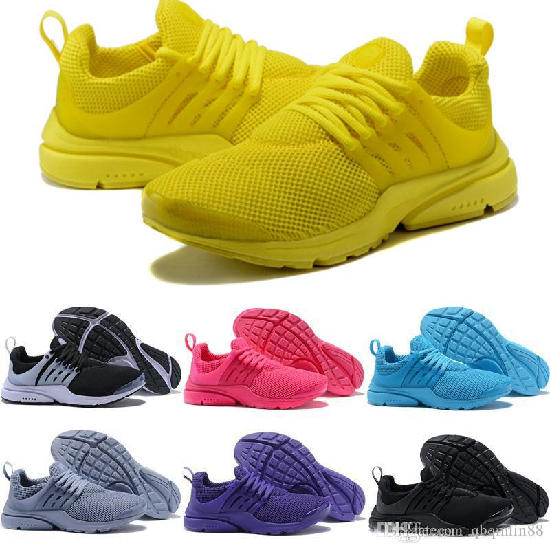 save off 1624d 3a717 Prestos 5 Running Shoes Men Women Presto Ultra BR QS Yellow Pink Oreo  Outdoor Fashion Jogging Sneakers Size US 5.5 12 Sale Shoes Men Shoes Online  From ...